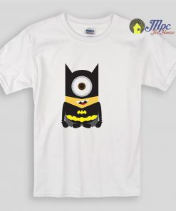 Funny Minion Batman Kids T Shirts and Youth