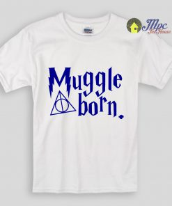 Harry Potter Muggle Born Kids T Shirts