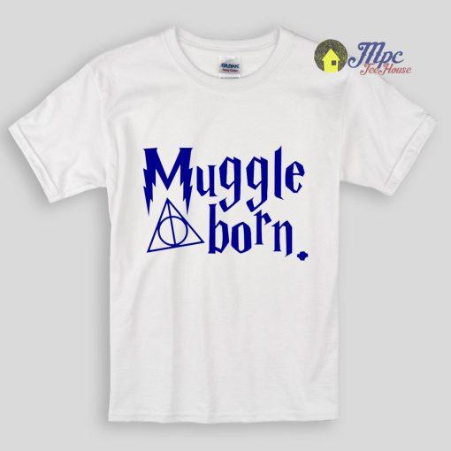 Harry Potter Muggle Born Kids T Shirts