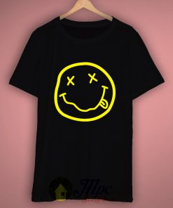 Nirvana Smile Face T Shirt