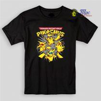 Pikachu Ninja Turtle Kids T Shirts