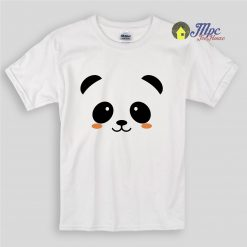 Panda Face Kids T Shirts and Youth