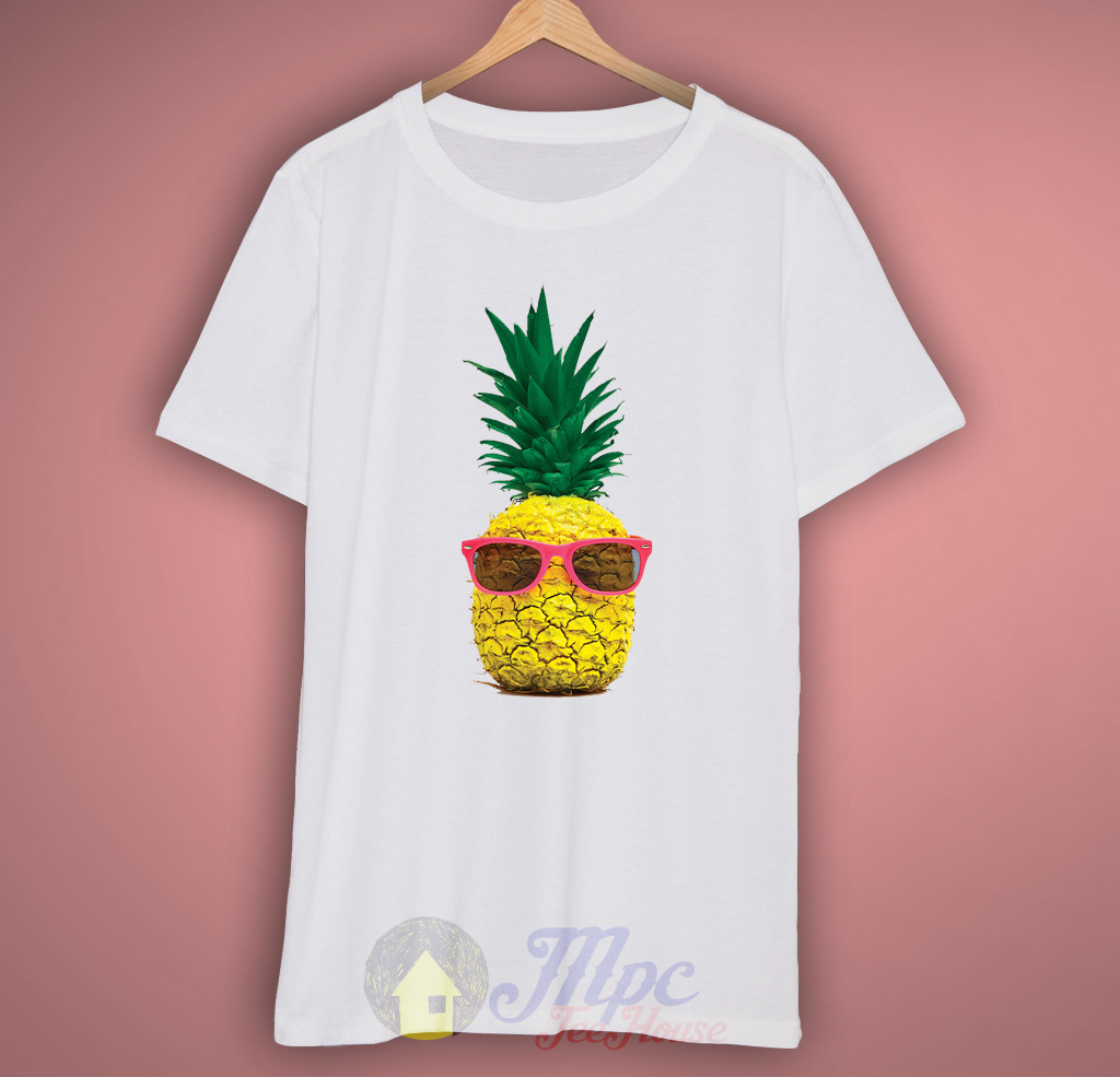 pineapple summer t shirt mpcteehouse 80s tees. Black Bedroom Furniture Sets. Home Design Ideas
