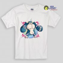 Pokemon Mega Snorlax Kids T Shirts