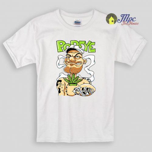 Popeye Sailorman Kids T Shirts