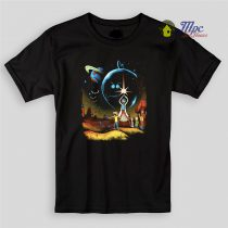 Rick and Morty Galaxy Kids T Shirts