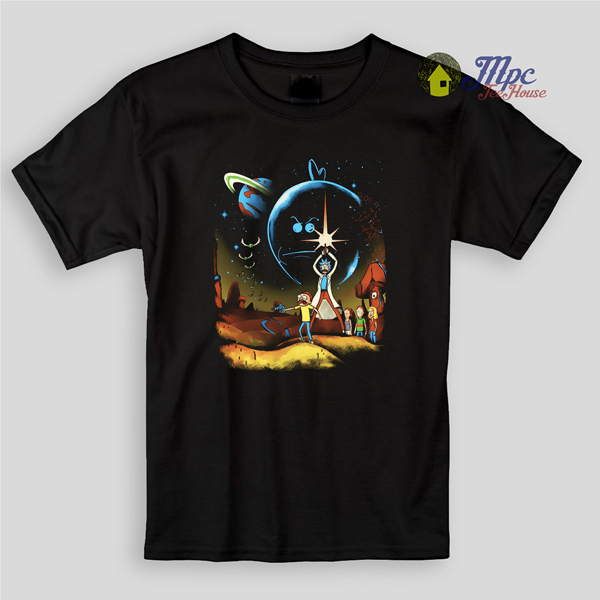 Rick And Morty Galaxy Kids T Shirts Mpcteehouse 80s Tees