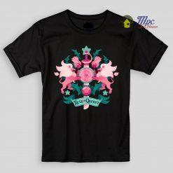 Rose Quartz Steven Universe Kids T Shirts