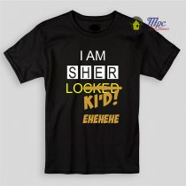 SherLoki'd Sherlock Holmes Kids T Shirts