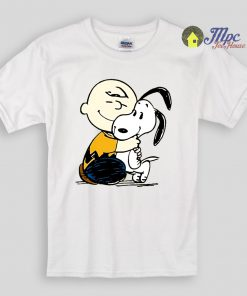 Snoopy and Charlie Soulmate Kids T Shirts And Youth T Shirt