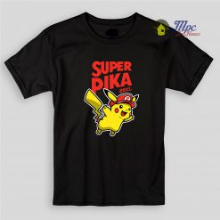 Super Pika Bros Kids T Shirts