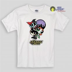The Arkham Power Puff Girls Kids T Shirts