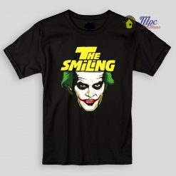 Joker The Smiling Kids T Shirts