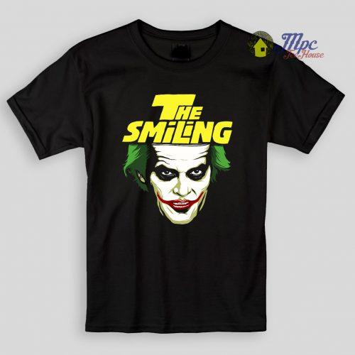 Joker The Smiling Kids T Shirts