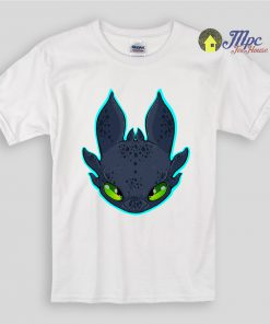 Toothless Night Fury Dragon Kids T Shirts