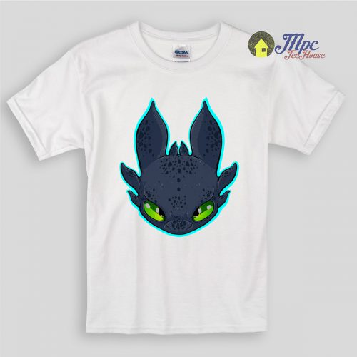 Toothless Night Fury Dragon Kids T Shirts