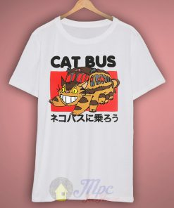 Totoro Neighbor Cat Bus T Shirt