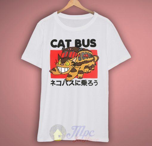 Totoro Neighbor Cat Bus T Shirt