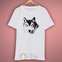 Wolf Face T Shirt