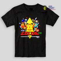 Zelda 8bit Design Kids T Shirts