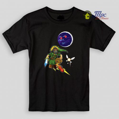 Zelda Majoras Mask Kids T Shirt