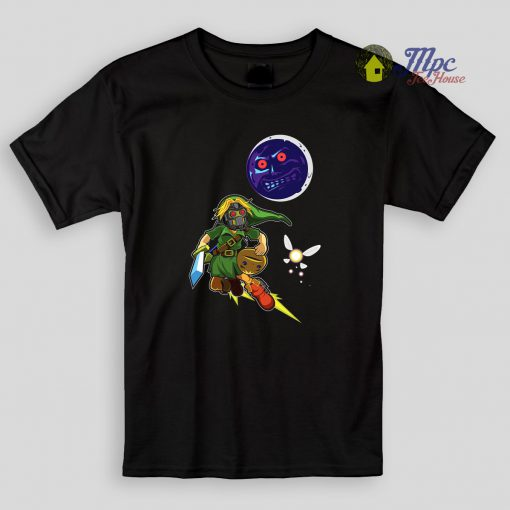 Zelda Majoras Mask Kids T Shirt