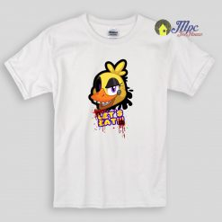 Chica Five Nights at Freddy's let's eat Kids T Shirts