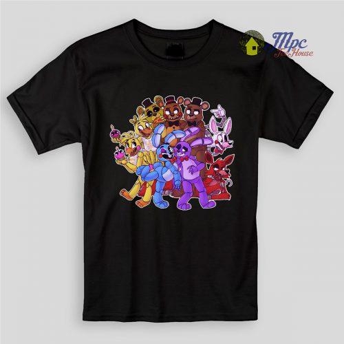 Five Night At Freddy Paradise Kids T Shirts