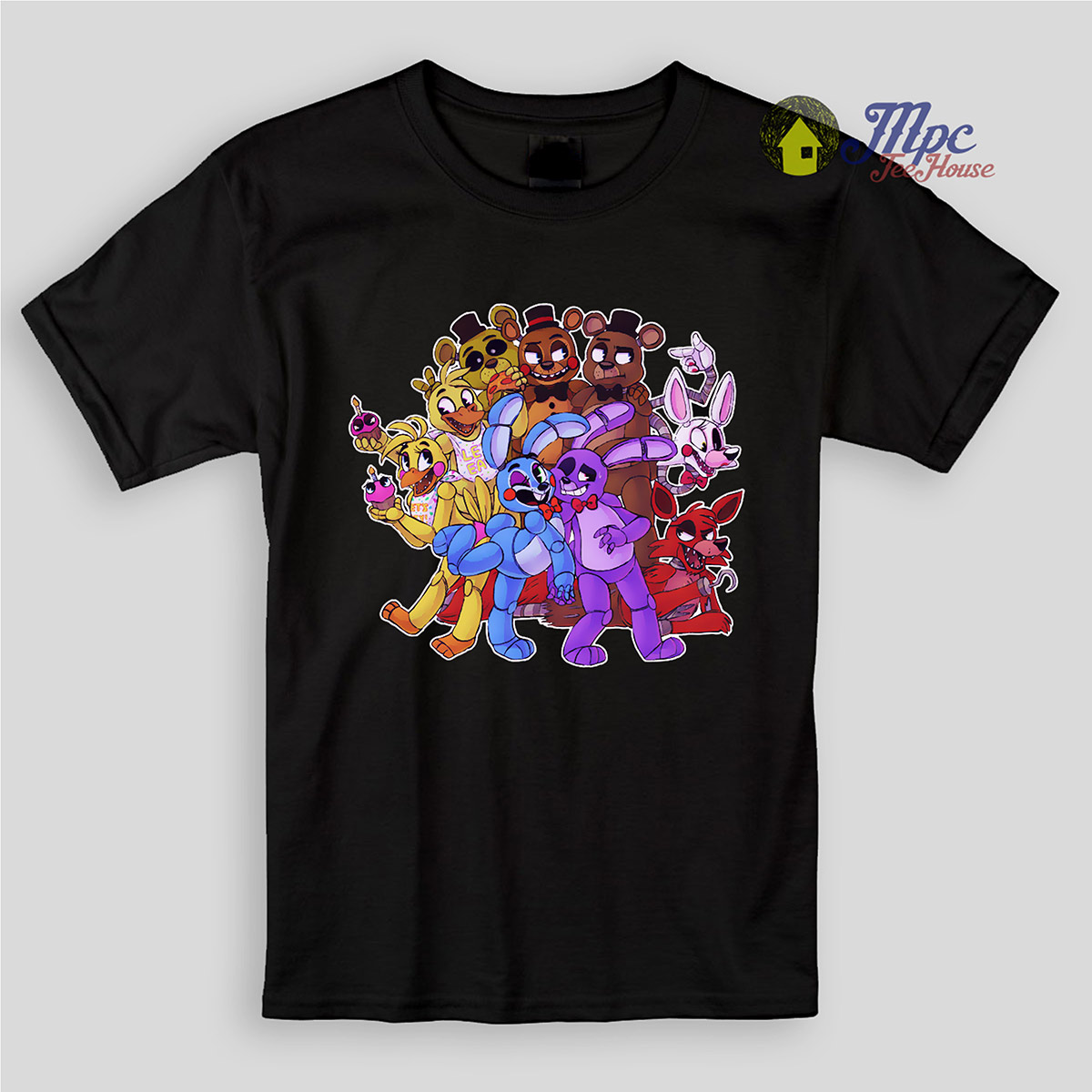 Five Night At Freddy Paradise Kids T Shirts