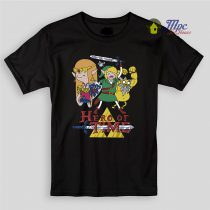 Zelda Hero Time Kids T Shirts