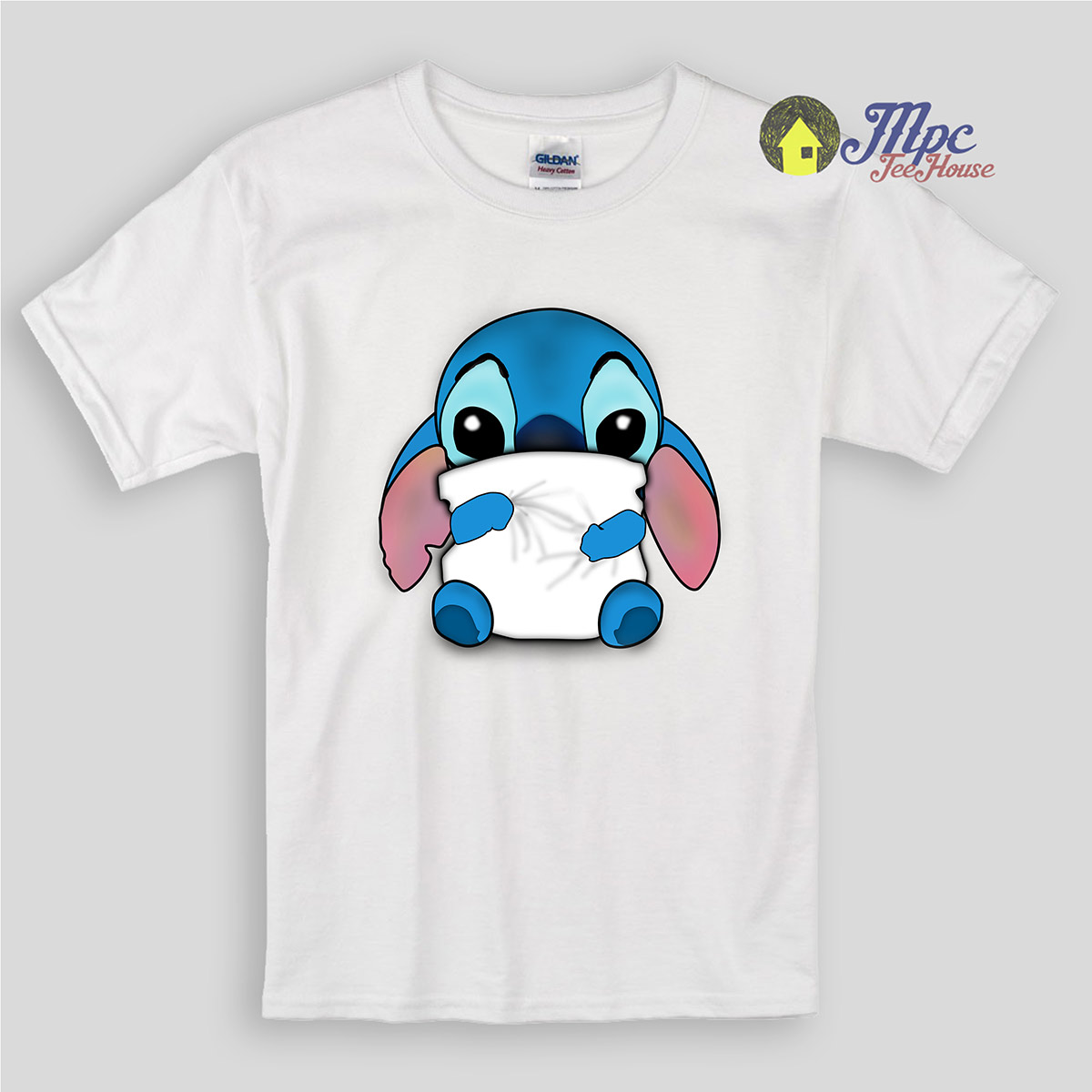 Lilo & Stitch Huging Pillow Kids T Shirts | Mpcteehouse ...