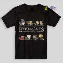 Lord of The Cats LOTR Kids T Shirts