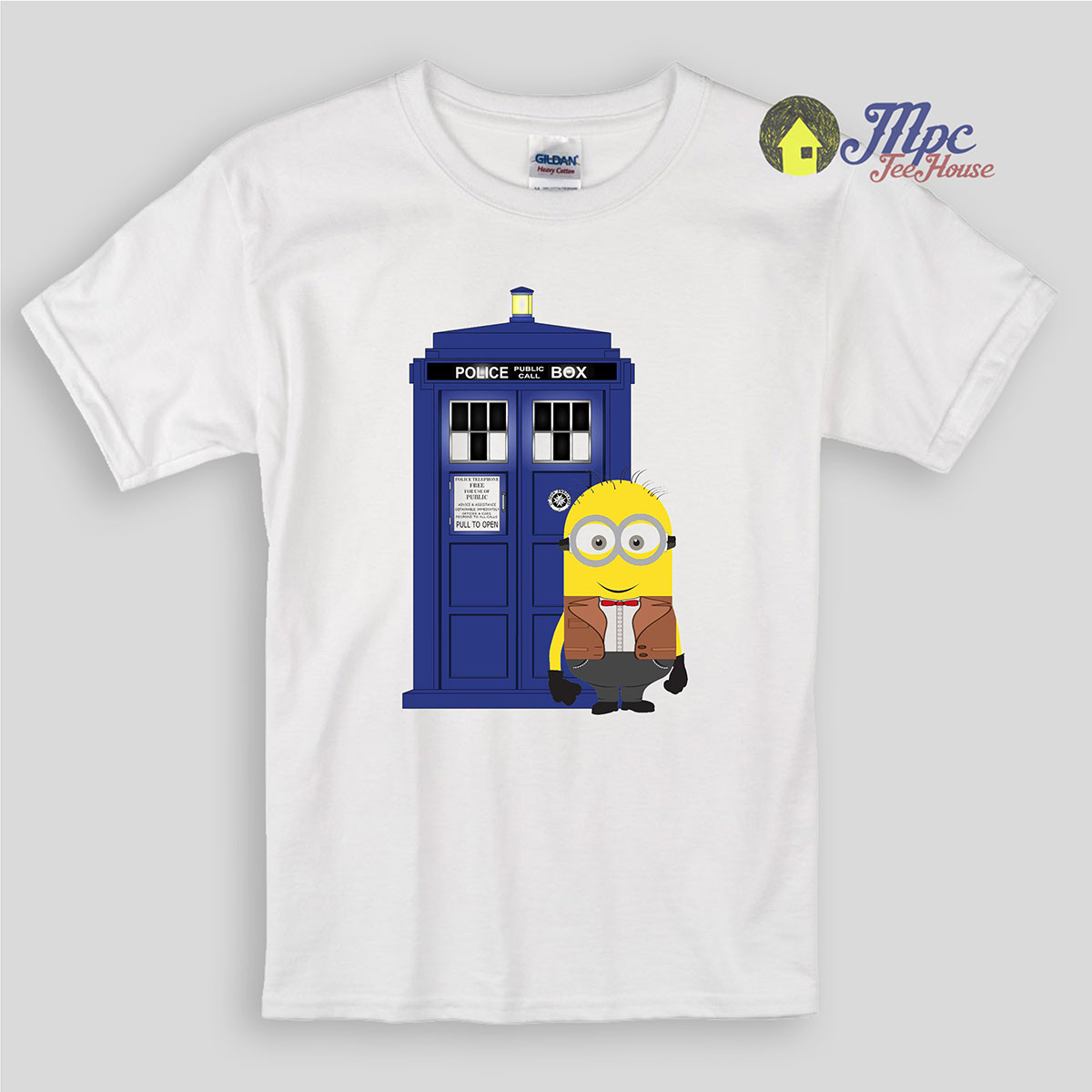 Despicable Minion Doctor Who Inspired Kids T Shirts