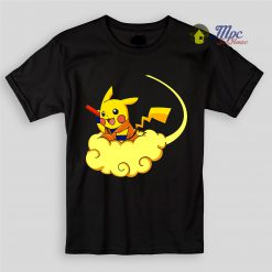 Pokemon Pikachu Dragon Ball Kids T Shirts