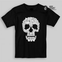 Skulls Cat Kid & Youth T Shirt