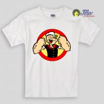 Strong Popeye Kids T Shirts