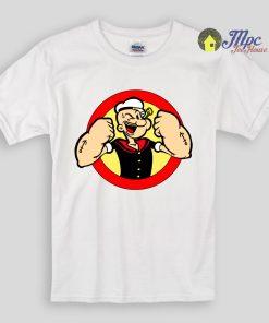 Strong Popeye Kids T Shirts