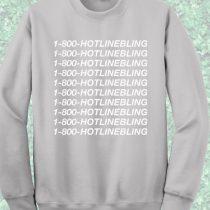 1-800-Hotlinebling Crewneck Sweatshirt