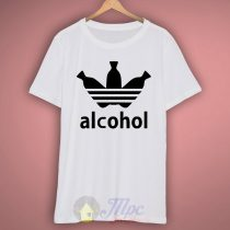 Adidas Parody Alcohol T Shirt
