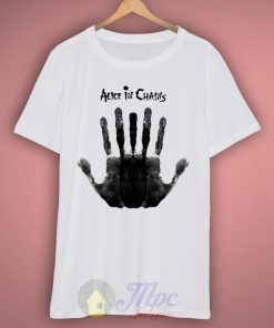 Alice In Chains Hand Grunge T-shirt