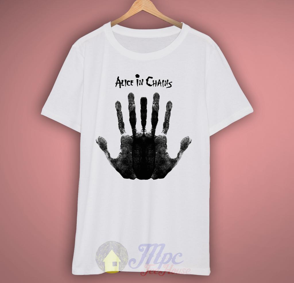 Alice In Chains Hand Grunge T-shirt