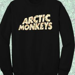Artic Monkeys Floral Crewneck Sweatshirt