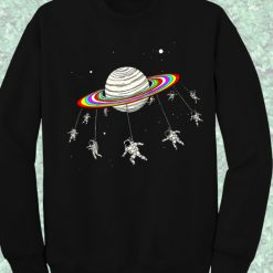 Astronaut Space Crewneck Sweatshirt