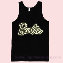 Barbie Glow Unisex Tank Top