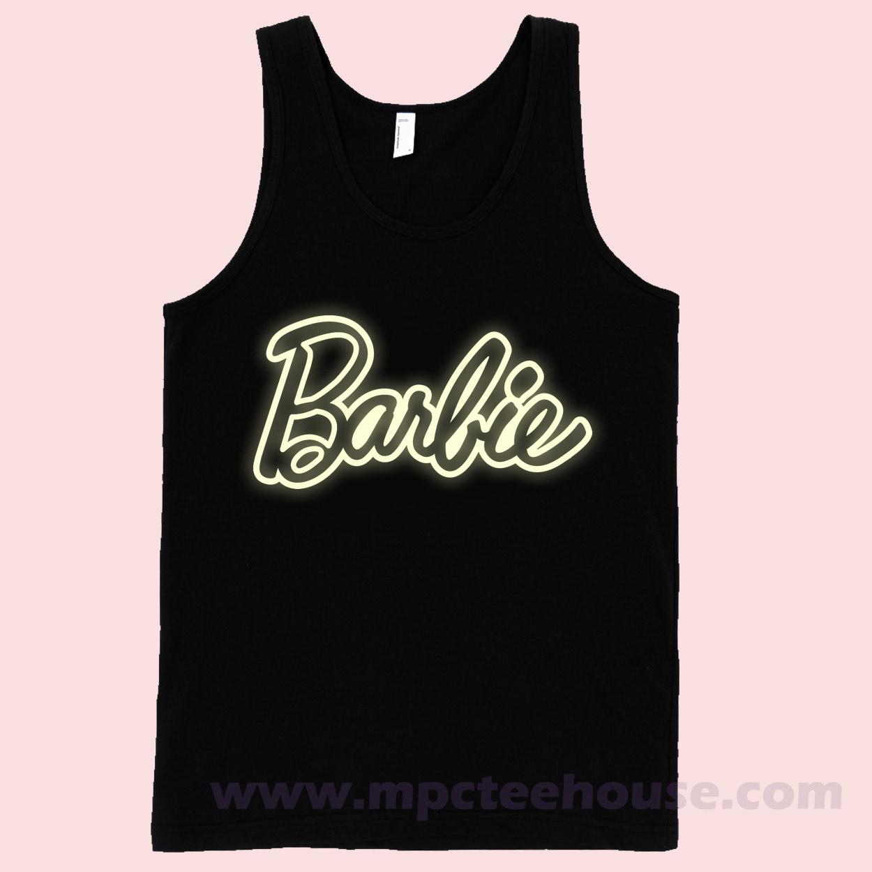 Barbie Glow Unisex Tank Top