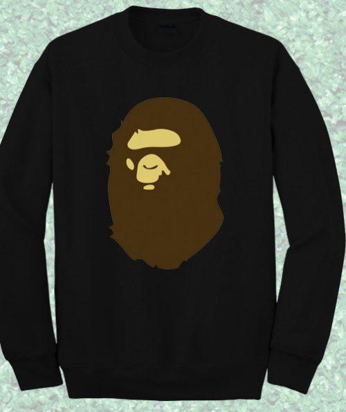 Bathing Ape Crewneck Sweatshirt