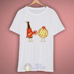 Beer Pizza Couple Best Friend T-Shirt
