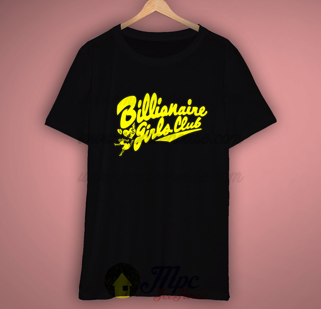 Beyonce billionaire girls club t shirt mpcteehouse 80s tees for T shirts for clubs