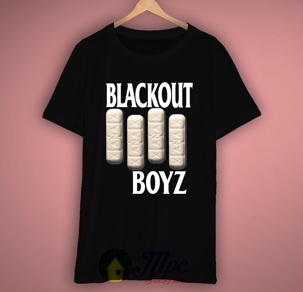 Blackout Boyz T Shirt Mpcteehouse 80s Tees