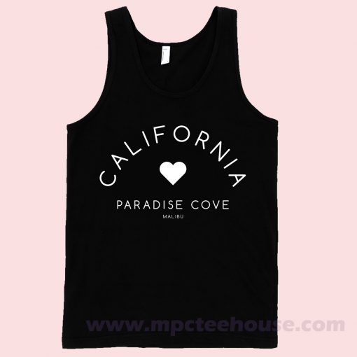 California Malibu Paradise Cove Tank Top